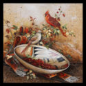 #918 Cardinals Limited-Edition Giclee (Unframed Canvas On Masonite) (Edition Size: 50)