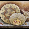 Three Baskets Limited-Edition Giclee  (Edition Size: 50)