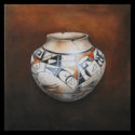 #817 Hopi Pot Limited-Edition Giclee (Unframed Canvas On Masonite) (Edition Size: 50)