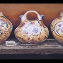 #1467 Three Pots w/Arrows